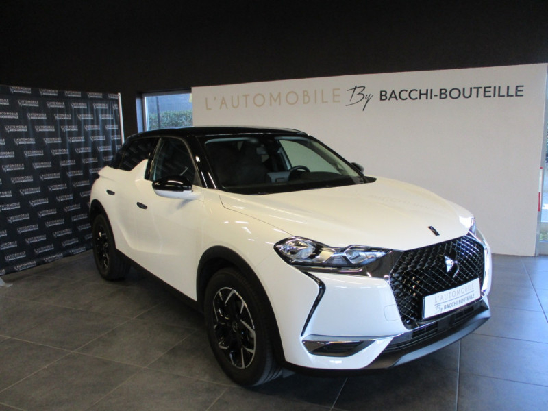 Ds DS 3 CROSSBACK BLUEHDI 100CH SO CHIC Diesel BLANC Occasion à vendre