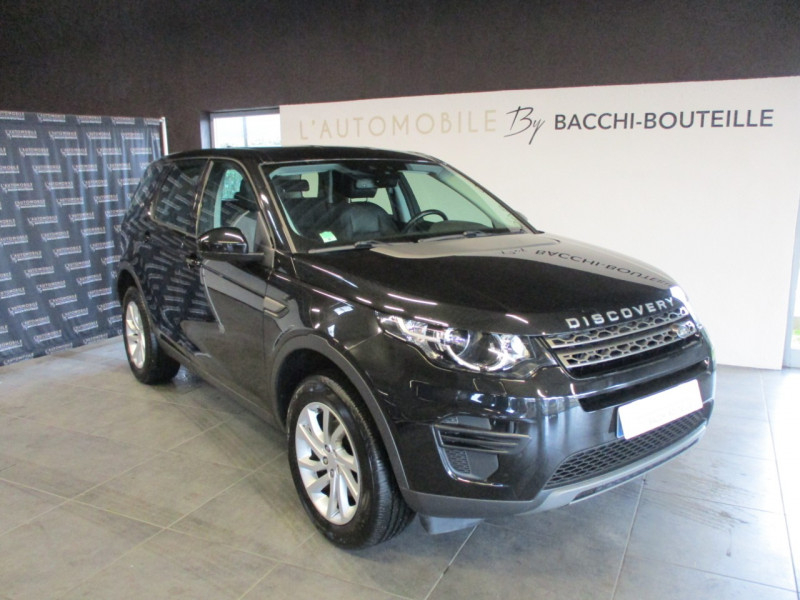 Land-Rover DISCOVERY SPORT 2.0 TD4 150CH AWD SE BVA MARK II Diesel NOIR Occasion à vendre