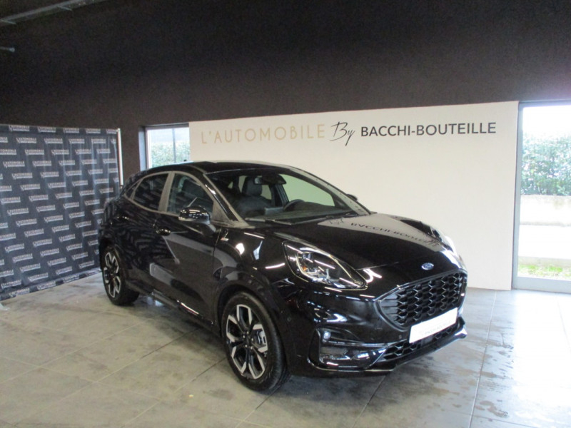 Ford PUMA 1.0 ECOBOOST 125CH MHEV ST-LINE X Essence NOIRE Occasion à vendre
